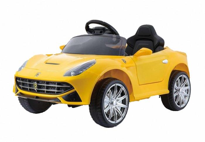 Электромобиль RiverToys Ferrari O222OOFerrari O222OOЭлектромобиль RiverToys Ferrari O222OO с дистанционным управлением.  Особенности: открывающиеся двери позволяют с легкостью садиться в машинку даже самому маленькому колеса из каучука обеспечивают бесшумность и мягкость езды сзади имеется открывающийся вместительный багажник для хранения мелких вещичек имеются выдвижные колесики сзади и ручка спереди для перемещения вне езды по принципу Чемодан индивидуальный пульт позволит управлять только своей машинкой среди других авто во время прогулки усовершенствованная аудиосистема-имеется вход для USB и MP3, руль также музыкальный высокое сиденье для поддержки спинки ребенка, имеется ремень безопасности заводится с ключа ( в комплекте 2 шт ) маневренный и компактный - поместится в любое авто и проедет даже в самых маленьких дверных проемах для детей от 3-х до 8 лет аккумулятор: 6V/4,5A редуктор: 20Wх2 наличие пульта дистанционного управления (настраивается по Bluetoh) плавный ход обеспечивается за счёт наличия амортизаторов сидение: кожаное, пятиточечный ремень безопасности заводится авто с ключа колеса: каучуковые открываются дверки и багажник световые и звуковые эффекты. Подсветка панели приборов, диодные огни фар время работы одного заряда батареи - 2 часа, напряжение батареи - 6 вольт<br>