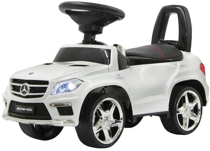 Каталка RiverToys Mercedes-Benz GL63 A888AAMercedes-Benz GL63 A888AAКаталка RiverToys Mercedes-Benz GL63 A888AA - это очень популярная и любимая многими детьми игрушка. Приводится в движение самим ребенком, путем отталкиваний ножками от пола.  С раннего возраста все детки мечтают о своём первом автомобиле! Толокар RiverToys Audi JY-Z01A - лучший подарок для малыша! Подходит для детей, которые уже научились сидеть самостоятельно. Широкие колёса и сиденье со спинкой обеспечивают комфорт, устойчивость и безопасность во время поездки. Машинка лёгкая и простая в управлении.  Особенности: высококачественный, ударостойкий, устойчивый к УФ-лучам пластик подходит для детей от 1 года до 3-х лет (максимальная нагрузка – 20 кг) музыкальный руль, звуковые эффекты и световые эффекты колеса: пластик сиденье кожаное отсек для хранения игрушек и вещей ребенка, вместительный, удобный, расположен под сиденьем<br>
