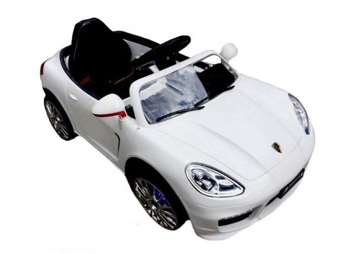 Электромобиль RiverToys Porsche Panamera A444AAPorsche Panamera A444AAЭлектромобиль RiverToys Porsche Panamera A444AA создает все условия для интересного катания.   Особенности: подходит для детей от 3 до 9 лет аккумулятор: 2х6V/4,5А редуктор: 2х35W пульт управления: индивидуальный (настраивается по Bluetooh) время работы 1 час, заряда батареи — 2 часа ремни безопасности звуковые и световые эффекты, сигнал, свет фар, музыкальный руль, подвеска приборной панели открываются двери, багажник заводится с кнопки скорость: 2.5- 5 км/ч; высокий и низкий режим скорости плавный ход, амортизаторы колеса: пластиковые (дополнительная подсветка, которую, по желанию, можно отключить - рычаг под рулем) родительский пульт радиоуправления: вперед, назад, вправо, влево на расстоянии 30 метров USB-вход, вход для MP3, SD-карта, FM-радио<br>