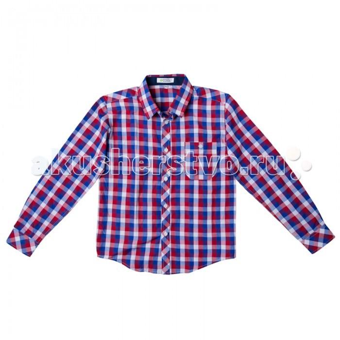 Блузки и рубашки S'cool Рубашка для мальчика Мотоклуб 173007