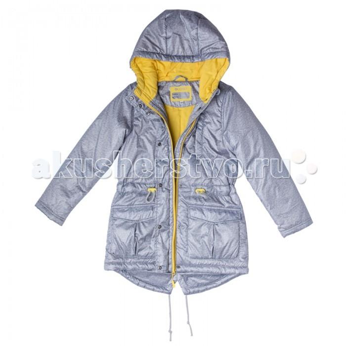 S'cool Куртка для девочки Best day 174003Куртка для девочки Best day 174003S'cool Куртка для девочки. Практичная утепленная куртка с капюшоном со специальной водоотталкивающей пропиткой защитит Вашего ребенка в любую погоду!  Специальный карман для фиксации застежки-молнии не позволит застежке травмировать нежную детскую кожу. Мягкая резинка на капюшоне не позволит ему упасть с головы ребенка даже во время активных игр.  Для дополнительного сохранения тепла модель снабжена шнурами - кулисками на поясе и по низу изделия. Модель с заниженной спинкой.  Особенности:  Защита подбородка. Специальный карман для фиксации застежки-молнии. Наличие данного кармана не позволит застежке -молнии травмировать нежную кожу ребенка Капюшон на мягкой резинке Водоооталкивающая пропитка.<br>