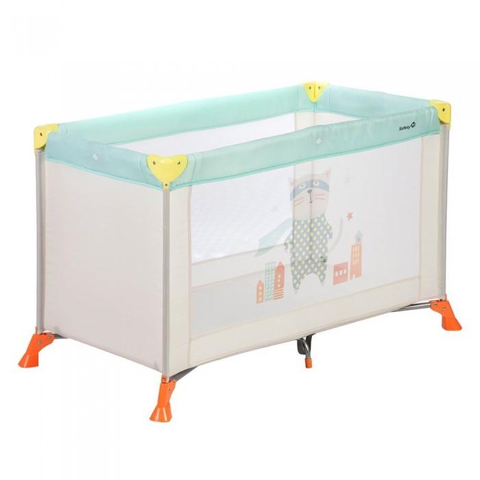 Манеж Safety 1st Soft DreamsSoft DreamsМанеж Safety 1st Soft Dreams – удобный манеж-кроватка для безопасного время препровождения малыша.  Манеж имеет твёрдое основание и две сетчатые стороны. Собирается и разбирается легко. В сложенном виде очень компактный, что удобно при хранении и транспортировке.  Размер: 123 x 62 x 75 см. Вес: 8 кг. В комплект входит: сумка для хранения и транспортировки.<br>