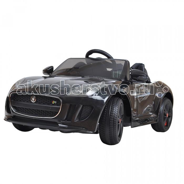 Электромобиль Shine Ring Jaguar F-Type 12V/7AhJaguar F-Type 12V/7AhShine Ring Электромобиль Jaguar F-Type 12V/7Ah SR218  Электромобиль Shine Ring Jaguar F-Type 12V/7Ah максимально похож на настоящую машину Ягуар. Малыш будет в восторге от такого электромобиля.   Особенности: - большие пластиковые колеса легко справляются с бездорожьем и грунтом; - батарея 12V/7Ah обеспечит продолжительную прогулку; - два мотора (2x35W); - 2 открывающиеся двери; - специальный разъем для подключения mp3-плеера; - пульт дистанционного управления; - звуковые и световые эффекты; - может двигаться вперед и назад; - две скорости вперед (для обеспечения максимальной плавности при трогании с места); - кожаное сиденье; - материал корпуса: высококачественный ударопрочный пластик; - специальная покраска корпуса; - скорость: 3-4 км/час; - количество посадочных мест: 1; - время зарядки: 8-12 ч; - время использования: 1-2 ч.  Возраст: от 3 до 8 лет. Размер: 117х78х55 см.<br>