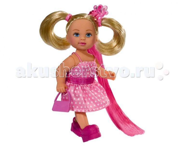 Куклы и одежда для кукол Simba Кукла Еви супер-волосы simba еви и пупс в кроватке