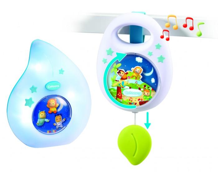 Мобили Smoby Набор для сна Cotoons Музыкальная подвеска + ночничок smoby ночник кукла свет звук smoby