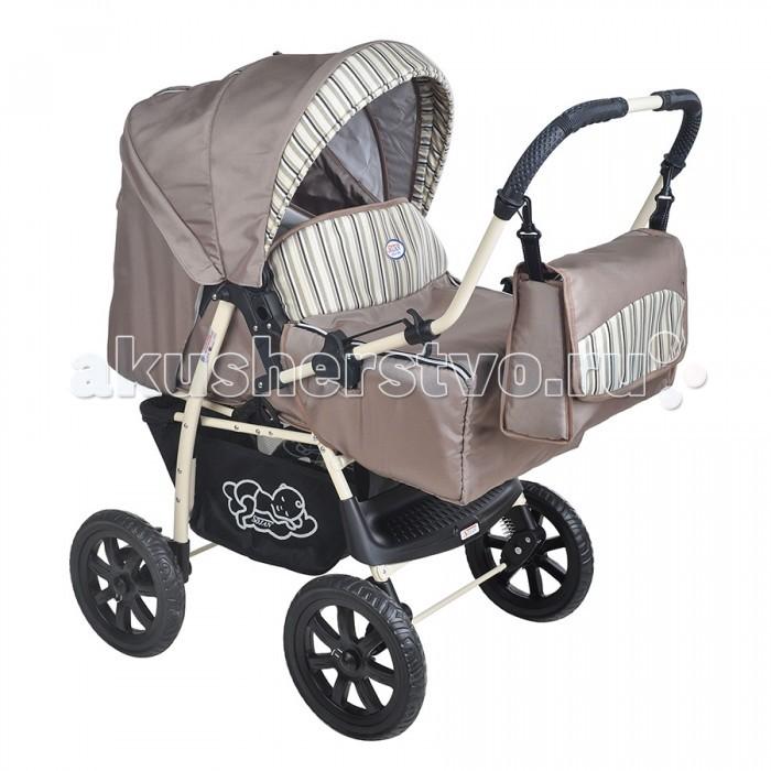 Коляска-трансформер SoJan EconomyEconomyДетская коляска-трансформер SoJan Economy - комфорт с первых дней. Модель предназначена для детей с 0 месяцев и до 3-х лет. Эта модель имеет современный роскошный дизайн, спокойную цветовую гамму и легко собирается. Большие шасси позволяют ей быстро и беспрепятственно передвигаться.  Характеристики: Колеса пластиковые Перекидная ручка Люлька-переноска с капором Чехол для ножек Регулировка амортизатора мягкий-жесткий Регулировка подножки 3 положения Регулировка спинки 4 положения Регулируемый капор Вентиляционная сетка в капоре Пятиточечные ремни безопасности Большая корзина для покупок.  Размеры: Высота ручки от земли 104 см Ширина коляски с колесами 57 см Длина внутри коляски 83 см Ширина прогулочного варианта 29 см Длина люльки-переноски 78 см Ширина люльки-переноски 35 см.<br>