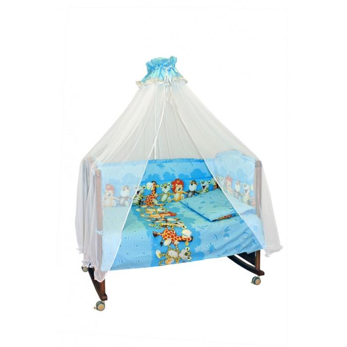 Комплект в кроватку Сонный гномик Африка (7 предметов)