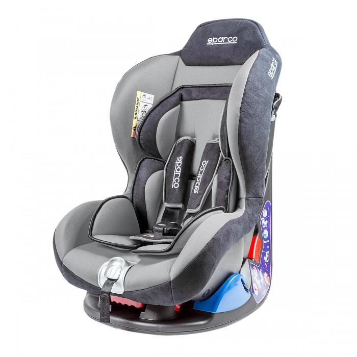Автокресло Sparco F5000KF5000KАвтокресло Sparco F5000K имеет спортивный дизайн, разработанный итальянскими дизайнерами.  Особенности: Предусмотрены специальные вкладки разработанные врачами - ортопедами для снятия нагрузки на позвоночник и для комфорта, а так же для перевозки грудных детей Ремни кресел выполнены таким образом, что ребенку будет комфортно и в летней и в зимней одежде Ремни и подголовник удобно регулировать под рост и комплекцию ребенка без особых усилий Достаточно широкое сидение позволяет удобно расположиться в нем малышу любой комплекции Материал кресел легко снимается и может стираться в любой стиральной машине Материал обладает гипоаллергенными свойствами и не вызывает раздражений Все кресла Sparco прошли сертификацию безопасности по Европейскому стандарту ECE R 44/04 который считается главным для детских автокресел, что говорит об их безопасности и надежности Каркас кресел выполнен из специально разработанного не колющегося пластика, который при ДТП максимально погасит силу удара и тем самым максимально защищает ребенка от травм и ушибов Максимально усиленная защита от бокового удара, боковая защита таза , удобный и в тоже время очень безопасный подголовник Пятиточечный внутренний ремень Закрепляется на кресле автомобиля штатными ремнями. Правильность прохождения ремней безопасности обеспечивается специальными направляющими, предусмотренными на задней стенке детского сидения<br>