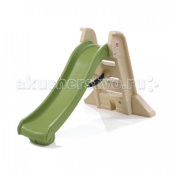 Горка Step 2 складная большаяскладная большаяСкладная большая горка Step 2 подарит вашим детям радость от веселого катания, и от тесного общения с вами. Благодаря дизайну горка прекрасно вписывается в традиционный ландшафт открытых площадок загородного дома. Детские горки способствуют развитию координации движений, моторики, ловкости, укрепляют мышцы и, конечно же, развивают воображение. Удачно впишутся в детскую комнату и станут настоящим украшением Вашего загородного дома. Надежная, устойчивая и безопасная конструкция найдет одобрение у родителей. Детская горка – настоящий рай для маленьких шалунов. Оригинальные детские горки подарят малышам море веселья и удовольствия.   Характеристики: изготовлена из высококачественного прочного пластика подходит для детей от 2 лет оригинальный дизайн устойчивая безопасная конструкция высокие перила и надежные поручни позволяют не беспокоиться о безопасности ребенка и помогают ему залезть на горку удобные ступени для подъема на горку при сборке требуется минимальное участие взрослых легко моется и складывается для хранения прочная конструкция прослужит долгие годы подходит как для улицы, так и для помещений   Размеры: 104.2х162.6х43.2см Вес: 13.6 кг<br>