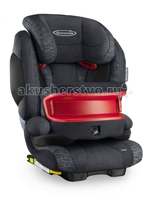 Автокресло STM Solar IS SeatfixSolar IS SeatfixSTM Solar IS SeatFix - комфортное автокресло для детей от 9 мес. до 12 лет (от 9 до 36 килограмм) снабжено столиком безопасности для детей группы 1 (от 9 кг.) Использование столика безопасности позволяет отказаться от использования внутренних ремней автокресла. Ребенок до 3-4 лет фиксируется в автокресле при помощи столика безопасности и встроенного штатного ремня автомобиля, благодаря такому варианту установки снижается нагрузка на шейный отдел позвоночника ребенка при фронтальном ударе.   STM Solar SeatFix оснащен дополнительной боковой защитой - мягкими вставками с внешней стороны боковин кресла, которые сокращают расстояние до двери автомобиля, уменьшая тем самым амплитуду удара и поглощая при ударе его энергию.  Cпинку кресла можно слегка отклонять, чтобы во время сна голова ребёнка не западала вперёд. В боковинах спинки предусмотрены вентиляционные отверстия, которые обеспечивают дополнительную циркуляцию воздуха.   Произведено в Германии  Особенности: крепление: ребёнок вместе с креслом крепится ремнем безопасности автомобиля, при этом есть дополнительное крепление к скобам isofix. Таким образом, кресло можно использовать в автомобилях как с системой isofix, так и без неё направление установки: по ходу движения автомобиля безопасность: кресла соответствует Европейскому стандарту ЕСЕ R44/04. В независимых краш-тестах ADAC (Германия), Stiftung Warentest (Германия), ANWB (Голландия) в 2012 году получило высокую оценку «Gut» ребёнок в кресле фиксируется штатным автомобильным ремнём, который одновременно держит и кресло, и ребёнка ремень безопасности проходит через специальную направляющую в подголовнике и ложится на плечо, а не на шею крепления Isofix дополнительно фиксируют кресло на ходовой части автомобиля для большей устойчивости в поворотах индикаторы, подтверждающие закрепление фиксаторов Isofix коннекторы Isofix имеют выдвижную конструкцию для простоты хранения спинка принимает положение по углу наклона сидени