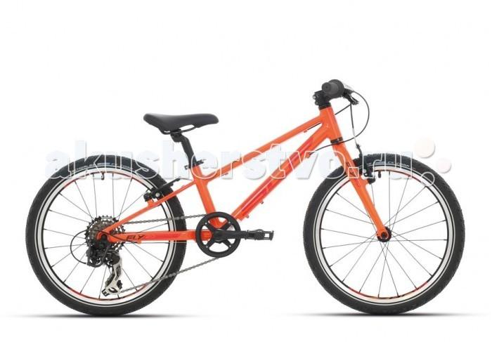 Велосипед двухколесный Superior F.L.Y. 20F.L.Y. 20Велосипед двухколесный Superior F.L.Y. 20 для ребенка от 6 лет и ростом от 110 см.  Особенности: высококлассное оборудование Shimano обеспечивает легкое уверенное катание и отличные эксплуатационные характеристики.  компоненты велосипеда тщательно подобраны с учетом детской анатомии. прочная алюминиевая рама и цепкие покрышки Schwlbe Black Jack позволят гонщику уверенно и безопасно преодолевать даже крутые спуски.  европейское качество гарантирует долгий срок службы велосипеда и непременное удовольствие во время поездок. Рама: Алюминий 6061.T6 вилка: RST Alloy superlight rigid, жесткая без амортизации рулевая колонка: Aheadset 1/8 Steel semi-cartridge руль: ATB steel, riser-type 540 мм вынос: ZOOM MTB 60 мм, Alloy Ahead подседельный штырь: HL CorpAlloy 27.2 мм/300 мм седло: Velo Sport Junior педали: Marwi SP-202 тормоза: Tektro 855 Alloy V-brake кассета: Shimano MF-TZ06-6 14-28 цепь: KMC Z50 система/шатуны: Pprowheel steel w/alloy cranks 40T w/single guard, Square type 140 мм каретка: Thun Jive Square system обода: Weinmann ZAC 2000 втулки: ONE KT Freewheel type QR спицы: Sapim galvanized покрышки: Schwalbe Black Jack 20x1.90 дополнительно: 6 скоростных режимов, рама 11 шифтеры/манетки: Shimano SL-RS35-6 Revoshift задний переключатель: Shimano RD-TX35D тормозные ручки: Saccon Junior<br>
