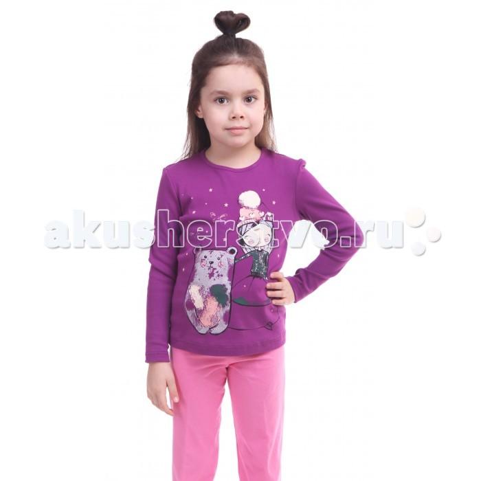 Водолазки и лонгсливы Свiтанак Лонгслив для девочки Р858866 детский лифчик для девочки 10 лет