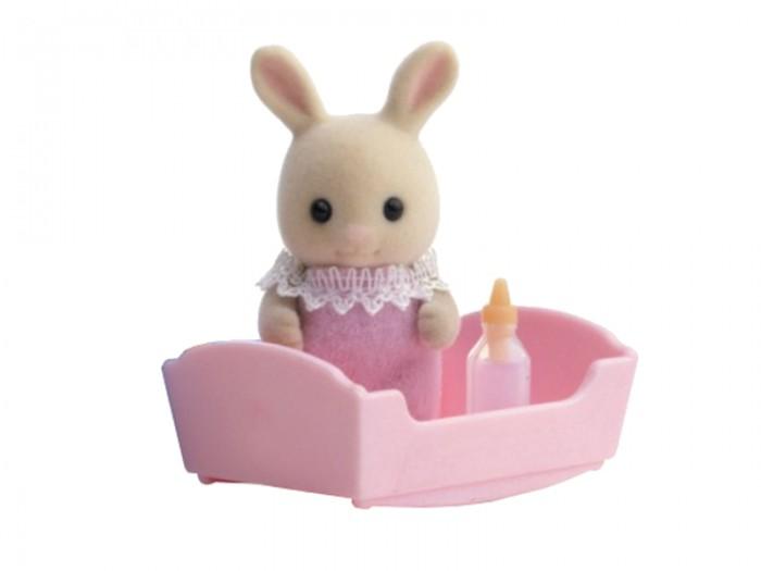 Игровые наборы Sylvanian Families Игровой набор Малыш молочный кролик sylvanian families набор мама кролик и холодильник