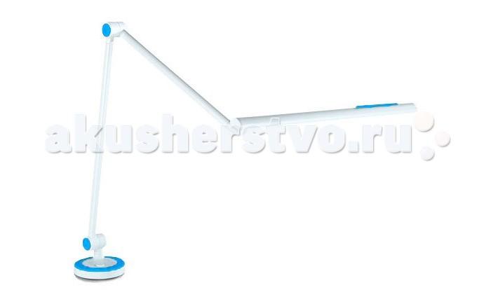 Светильник TCT Nanotec Светильник 2001 на штангеСветильник 2001 на штангеTCT Nanotec Светильник 2001 на штанге надежно крепится к столу или к полке стола. Удобная поворотная штанга поможет осветить любую зону стола. Поворот штанги 360°. Светодиоды с большим сроком службы не менее 20 000 часов.  Подходит для всех столов и парт.  Особенности: Различные цветные вставки в комплекте; Надежное крепление; Поворотная штанга 360°; Регулируемая высота подачи света;<br>