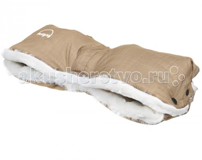 Teutonia Муфта для рук Polar BearМуфта для рук Polar BearМуфта для рук Teutonia заботится о тепле ваших рук и позволит вам дольше находиться на улице с малышом в прохладную, ветреную и влажную погоду.  Муфта подходит практически для всех моделей колясок с одной ручкой. Легко стирается в стиральной машине и не требует особого ухода. Незаменимый аксессуар для коляски.  Особенности: Подкладка — теплый искусственный мех Верх сделан из водонепроницаемой ткани Муфту можно постирать при 30 градусах. Размеры: 24 x 53 x 10 см (ШxДxВ).<br>