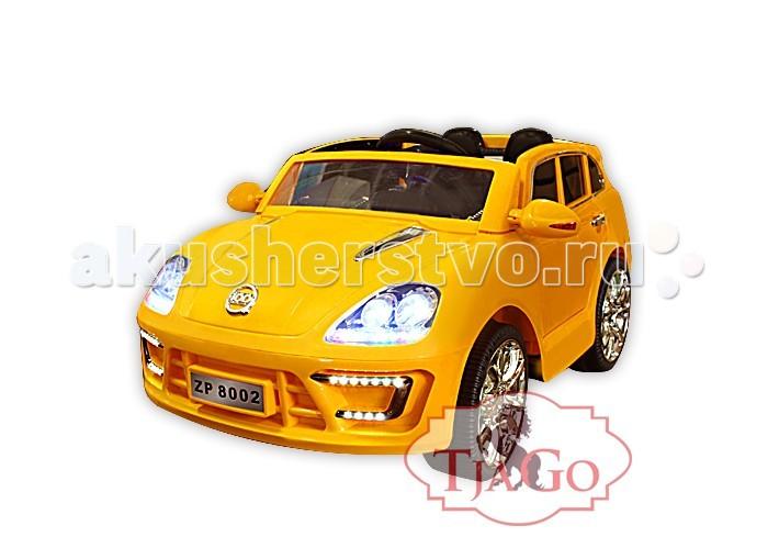 Электромобиль TjaGo MakanMakanЭлектромобиль TjaGo Makan предназначен для использования одним пассажиром в возрасте от 3 до 6 лет.  Особенности: Электромобиль TjaGo MAKAN может стать чудесным подарком ко дню рождения Вашего ребенка. При этом модель выполнена не только в строгом черном, но и в белом, красном и желтом цветах, которые подойдут не только мальчикам, но и девочкам.  Каждый электромобиль оснащен пультом управления, это поможет родителям на первых этапах следить за траекторией движения маленького водителя.  Шесть различных мелодий и встроенный МПЗ сделает путешествие веселее. Малыш сможет предупреждать учасников движения о себе, используя гудок. Мощность электромобиля 12v7AH. Электромобиль на пульте управления. Приборная панель оснащена индикатором заряда батареи и МПЗ  Размер электромобиля: 130х73х60 см<br>