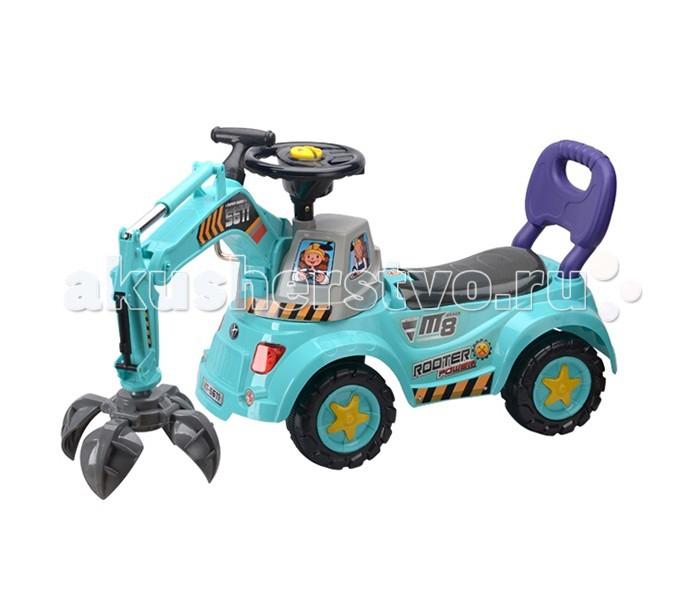 Каталка Toysmax ПодъёмникПодъёмникКаталка Toysmax Подъемник многофункциональная игрушка, которая позволит ребенку развить координацию движений и провести время за интересной игрой, а также почувствовать себя настоящим водителем.  Характеристики:  Каталка имеет устойчивую конструкцию Высокая спинка Вместительный багажник под сиденьем с набором игрушек: лейка, грабли, лопатка Свето-музыкальные эффекты Оснащена лапой с захватом, который работает с помощью специальных рычагов Колеса с поворотом на 90 градусов Движение вперед и назад.  Размер: 103X29X46.5 см  Вес: 4,5 кг  Возраст: от 3 до 6 лет<br>