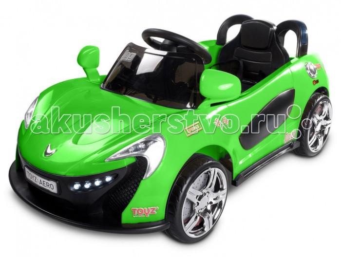 Электромобиль Toyz Caretero AeroCaretero AeroToyz Электромобиль Caretero Aero – это классический спортивный автомобиль. Такая модель подойдёт как для мальчиков , так и для девочек. Электромобиль Caretero Aero выполнен в реалистичном спортивном дизайне, благодаря чему он обязательно понравится каждому ребенку. Музыкальные эффекты и светодиоды, присутствующие в данной модели будут развлекать ребенка на прогулке. Езда на первом маленьком транспорте подарит ребенку много положительных эмоций, а также поможет ему получить первичные навыки вождения.  Особенности: Игрушка изготовлена из прочных ,экологически чистых материалов Стильный электромобиль со свето-музыкальными эффектами. Помогает развивать координацию движений и освоить первичные навыки вождения Эргономичное сидение с одним посадочным местом и ремнями безопасности Две скорости движения и пульт ДУ Кнопки на руле со звуковыми эффектами Вход для МР3-пригрывателя Светодиодные фары и 2 зеркала заднего вида Большие колеса с протекторами Время работы от 2-х часов на одном заряде батареи Максимальная нагрузка до 25 кг 2 двигателя (по 15 W), 2 аккумулятора (12V 8Ah) Внешние размеры (ДхШхГ): 103 &#215; 52,5 &#215; 46 см  Внутренние размеры (ДхШхГ): 57 х 34 х 18 см<br>