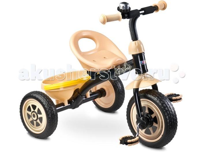 Велосипед трехколесный Toyz Charlie CareteroCharlie CareteroToyz Велосипед Charlie Caretero - этот детский трехколесный велосипед прекрасно подойдет на роль первого велосипеда. У него яркий современный дизайн, который произведет впечатление, как на вашего ребенка, так и на окружающих. Велосипед имеет устойчивую  безопасную конструкцию, он легкий и компактный. Прослужит много лет, благодаря высококачественным материалам, используемых при изготовлении велосипеда. Велосипед имеет все необходимые европейские сертификаты.  Особенности: предназначен для детей от 2 до 5 лет максимальная нагрузка – 25 кг легкая и прочная рама комфортное сиденье колеса из вспененной резины переднее колесо диаметром 25 см задние колеса диаметром 21 см звоночек на руле удобная корзинка Размеры: 68 x 59 x 61 см<br>