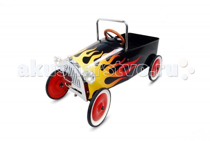 TVL Педальная машина SpeedПедальная машина SpeedПедальная машина TVL Speed с первого взгляда привлекает внимание своим смелым и экстравагантным дизайном. TVL Speed - это безопасная и надежная педальная машинка, которая смотрится, как гоночный болид будущего!   Особенности: Эта модель непременно произведет впечатление и на ребенка, и на его родителей.  Прочный металлический корпус машинки, а также устойчивые колеса с шинами из настоящей резины – это гарантия долговечности и безопасности модели.  Благодаря рулю, который отзывается на малейшее движение водителя и возможности регулировки педалей под рост ребенка, машинкой легко управлять.  Ее компактные размеры и невысокая максимальная скорость обеспечивают оптимальную безопасность во время прогулок.  Этот автомобиль отлично подойдет для водителя от 3 до 6 лет.<br>