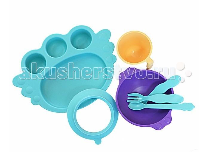 Uinlui Набор детской посуды Ангел 7 предметов