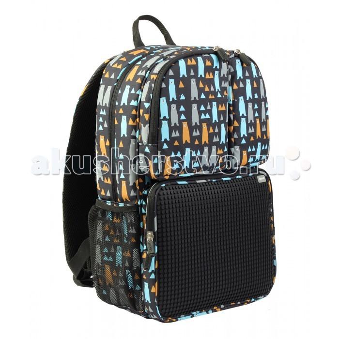 Upixel Детский рюкзак Joyful Kiddo WY-A026Детский рюкзак Joyful Kiddo WY-A026Upixel Детский рюкзак Joyful Kiddo WY-A026  с удобной эргономичной спинкой. Яркий дизайн и аксессуары рюкзака привлекут внимание окружающих. Рюкзак оснащен удобными лямками, которые можно регулировать по длине и своему телосложению. Также рюкзак снабжен одним большим отделением и 3 карманами. Кроме того, внутри рюкзака имеется дополнительный кармашек на молнии.   В комплекте 120 пикселей.<br>