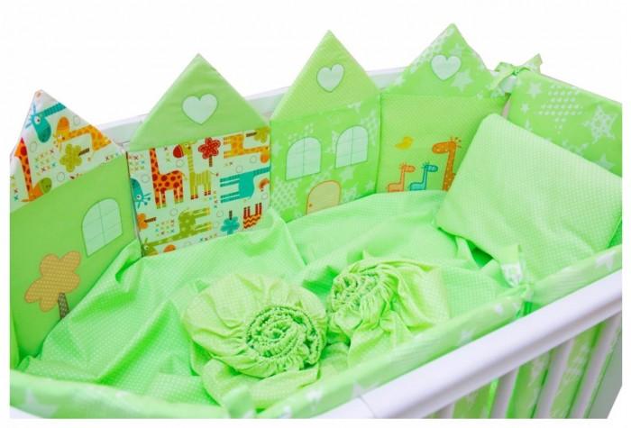 Комплект в кроватку Valle для овальной кроватки Grace (7 предметов)для овальной кроватки Grace (7 предметов)Комплект в кроватку Valle для овальной кроватки Grace (7 предметов) полностью экологичен и не содержит токсинов. Бортики с использованием наполнителя холлкон имеют долгий срок эксплуатации. Также материал сберегает тепло и сохранит идеальный внешний вид бортиков. Безопасно для аллергиков.   Бортики-домики с различными вариантами декора,цветное одеяло со стежкой из хлопка,цветная подушка,комплект простыней на резинке  Комплектация: балдахин из вуаля бортики из 6 частей наволочка простыня на резинке пододеяльник подушка 40 х 60 одеяло 110 х 140<br>