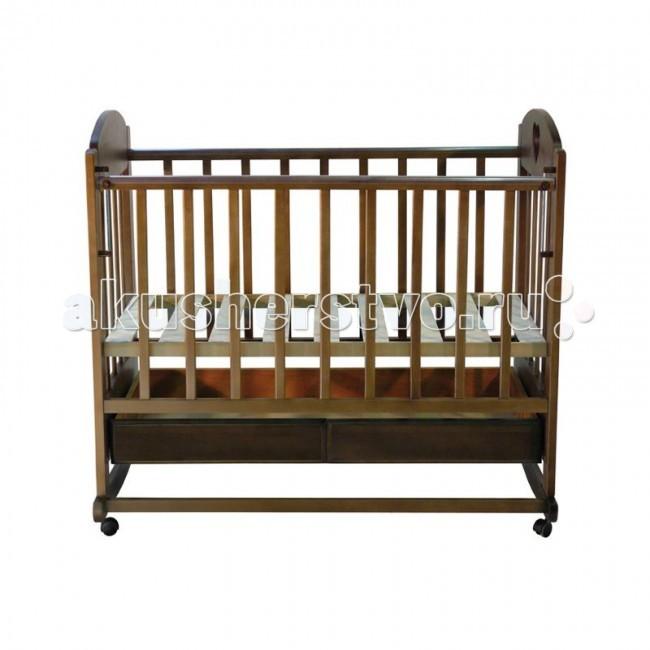 Детские кроватки Ведрусс Иришка №2 качалка ведрусс лана 2 ящик колеса качалка сердечко вишня