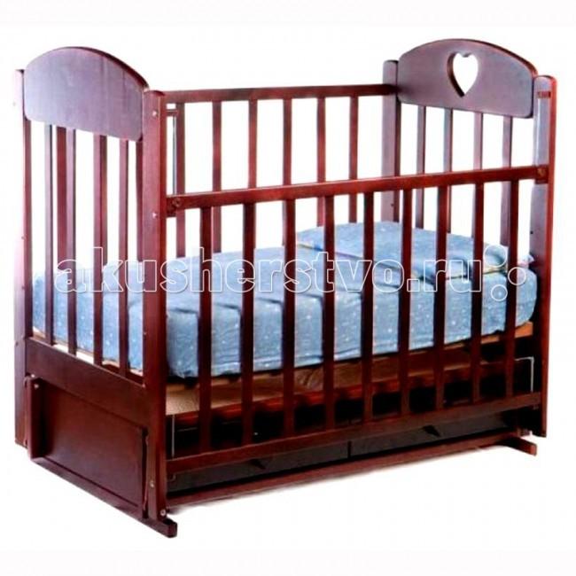 Детские кроватки Ведрусс Иришка №3 поперечный маятник