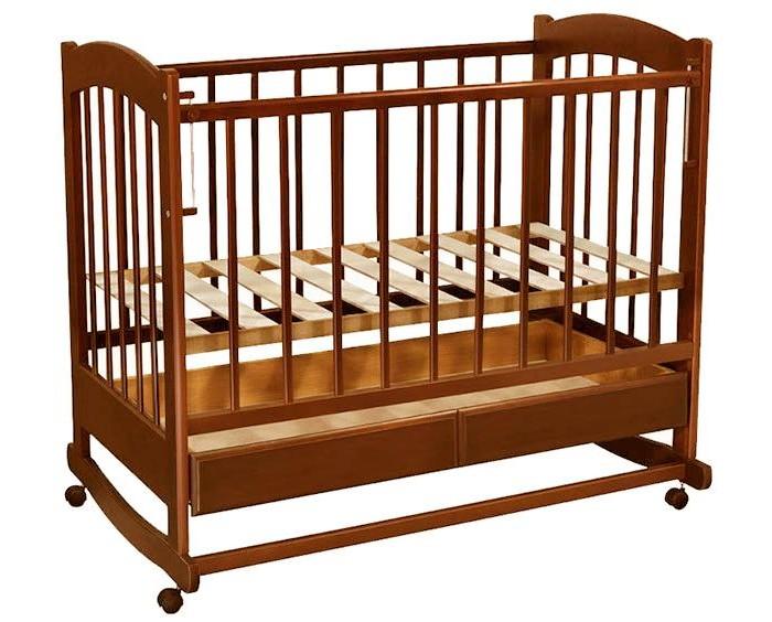 Детские кроватки Ведрусс Радуга №1 качалка ведрусс лана 2 ящик колеса качалка сердечко вишня