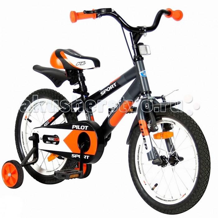 Велосипед двухколесный Velolider Lider Pilot 16Lider Pilot 16Велосипед двухколесный Velolider Lider Pilot 16 отвечает самым высоким стандартам качества.  Особенности: Все модели сделаны эксклюзивно для бренда Velolider и для российского покупателя. Все велосипеды Velolider проходят неоднократную проверку качества в процессе изготовления и заводской сборке, поэтому при соблюдении всех правил эксплуатации и обслуживания, велосипед прослужит Вам длительный срок. Уникальность этого велосипеда в том, что он имеет революционную систему торможения быстрый тормоз.  Разработано во Франции и создан специально для детей, которым теперь не придется тянуться и с трудом нажимать на тугой тормоз.   Удобные резиновые ручки с ограничителем на концах - рука ребенка будет защищена от ударов.  Сиденье заслуживает особого внимания, потому что наши инженеры учли анатомические потребности детей и пожелания их родителей. Сиденье очень широкое и с небольшим бортиком сзади. Эргономика- 10 баллов.  Во всех моделях - подседельные эксцентрики - это полноценные прочные стальные эксцентрики. Для того, чтобы изменить высоту сиденья, инструменты не нужны.  Очень высокие эргономичные рули с высококачественными выносами руля. Передний светоотражатель над рулевой колонкой, задний - под сиденьем.  На спицах переднего и заднего колес - большие светоотражатели. Безопасность: 10 баллов.  Диаметр колес: 16.  Рама: сталь.  Вилка передняя: сталь жесткая. Втулка передняя: SHUNFENG.  Втулка задняя: SHUNFENG Тормоза: передний: ручной, задний: ножной.  Покрышки: YIDA 16х2,125. Крылья: сталь.  Педали: пластик.  Широкое седло.  Подножка: сталь.  Количество скоростей: 1.  Рулевая колонка: сталь. Шатуны: квадрат, сталь.  Обода: сталь.  Стальная защита цепи.  Параметры: Рекомендуется для детей от 4 лет, весом не более 40 кг, при росте 108-116 см.  Регулировка седла от 55 до 63,5 см.  Размеры: 115х80х40 см.<br>