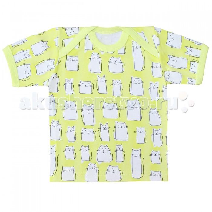 Футболки и топы Веселый малыш Футболка Коты 61172 детская одежда