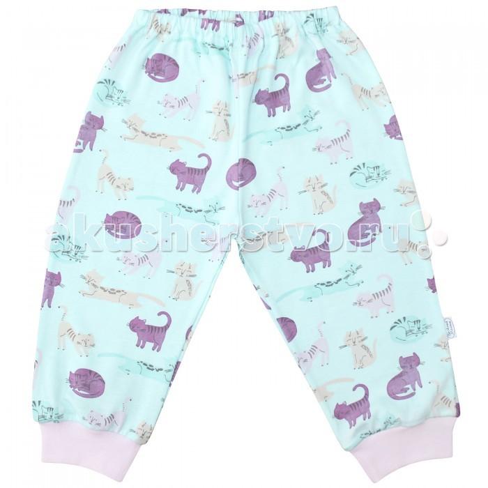 Брюки, джинсы и штанишки Веселый малыш Штанишки Кошечки 33170 детская одежда