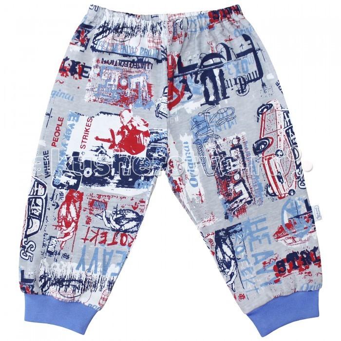 Брюки, джинсы и штанишки Веселый малыш Штанишки Машина 33170 детская одежда