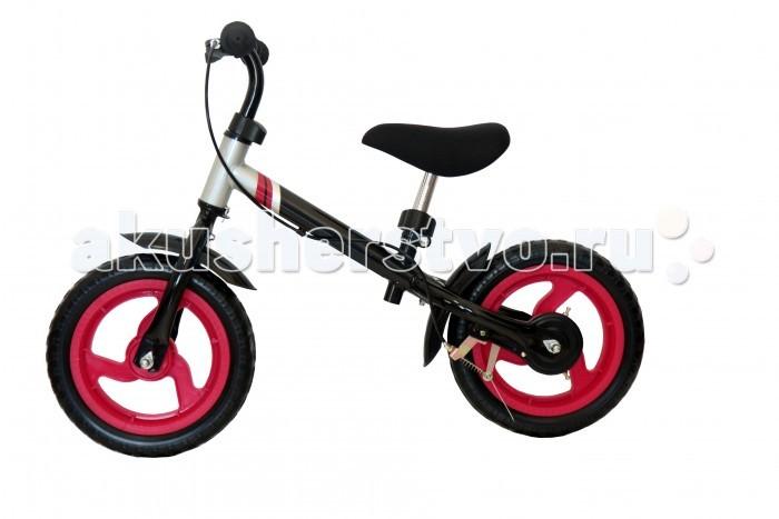 Беговел Vip Lex VipLex-303VipLex-303Беговел VipLex-303 - велобег, оснащенный ручным тормозом. Удобное седло и широкие колеса сделают прогулки комфортными и незабываемыми.  Беговелы – это детские двухколесные велосипеды, у которых нет педалей. Они совмещают в себе черты велосипеда и самоката и помогают держать равновесие.  Особенности: эргономичное сидение с мягкой накладкой - катайтесь долго с комфортом стальная рама - запас прочности тормоз заднего колеса - контроль скорости и безопасность предназначен для детей от 2 лет (до 25 кг)  Вес беговела: 4.5 кг Размер: 69х15х29 см<br>