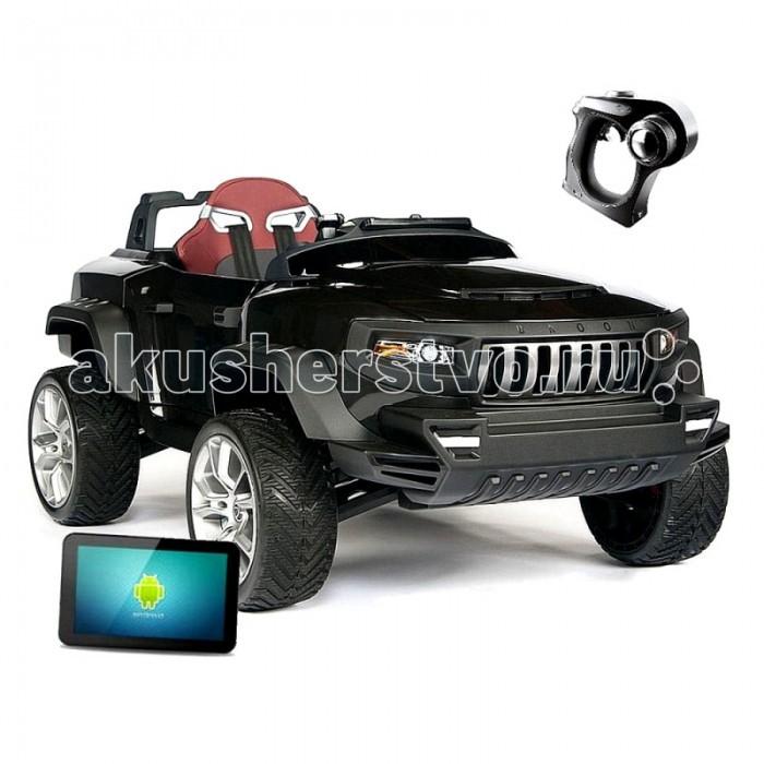 Электромобиль Vip Toys Henes-Broon T870Henes-Broon T870Broon T870 - революция в мире игрушек. Полноприводный детский внедорожник Henes-Broon T870 на аккумуляторе 24V c двумя мощными двигателями, бортовым планшетным компьютером на базе Android, электронной системой управления, независимой подвеской с газовыми амортизаторами, самоблокирующимся дифференциалом, электроусилителем руля, автоматической коробкой передач, системой активной безопасности, бортовым планшетным компьютером на базе Android, полиуретановыми шинами и литыми дисками, эргономически сконструированным ковшеобразным креслом и не только. Вы можете управлять Broon как в ручном режиме (при помощи рулевого колеса, педалей газа и тормоза), так и при помощи Bluetooth пульта ДУ. Henes-Broon T870 позволит Вашему ребенку ездить везде – дома, на природе, на любом типе местности, обеспечивая максимальный уровень безопасности и комфорта Вашему ребенку.   Характеристики: Двигатель: Двойной 24В 16,000 об/мин Мощность: Номинальная 240 Вт. (максимальная 450 Вт) Батарея: 24В 7.2 А/ч свинцово-кислотный аккумулятор Максимальная скорость: 8 км/ч Запас хода на одной подзарядке: 10-15 км. Привод: на 4 колеса (4DW) Подвеска: Независимая подвеска на 4 колеса Приборная панель: Автоматическая выдвижная панель Бортовой компьютер: 7-дюймовый планшетный ПК Кресло: Кожаное кресло со вставками из полиуретана (отделяется нажатием кнопки) Ремень безопасности: Четырех точечный ремень безопасности Диски: Литые диски (встроенные подшипники) Шины: Высокоплотные полиуретановые шины 3 режима движения: Комфортный, стандартный, динамический Операционная система: Android 4.2.2 Память: Встроенная флэш-память 1 Гб. Bluetooth: Bluetooth 3.0 Порты: HDMI/AUDIO/USB/SD Card Максимальный вес: 35 кг.  Размер 140х78х60 см Вес 36 кг<br>