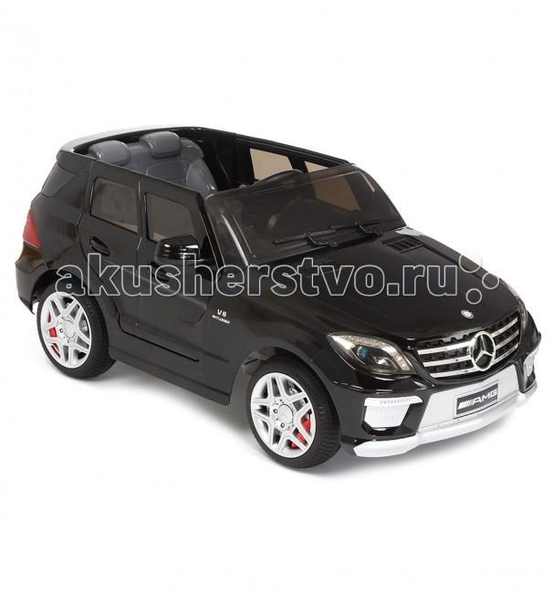 Электромобиль Weikesi Mercedes-Benz ML63Mercedes-Benz ML63Электромобиль Weikesi Mercedes-Benz ML63 подарит вашему юному водителю только самые яркие и положительные эмоции! Для маленького исследователя нет ничего интересней и увлекательней, чем знакомство с новыми, не изведанными ему пространствами.  Особенности: Вы можете не беспокоится за своего малыша, когда он находится за рулем, потому что электромобиль Weikesi изготовлен из крепкого пластика, а его максимальная скорость не более 7 км/ч.  Колеса сделаны из износостойкой резины, что позволяет ездить по любым поверхностям окружающей среды, не остерегаясь повреждения колес.  Водитель успеет насладиться поездкой в полной мере до разрядки аккумулятора (1,5-2 часа).  Полная зарядка аккумулятора осуществляется в течение 12-14 часов, первые пять раз желательно полностью разрядить аккумулятор и заряжать в течении 24 часов! MP3 Движение вперед-назад Звуковые эффекты Световые эффекты Пульт дистационного управления Максимальная скорость 7 км/ч Максимальная загрузка 30 кг<br>