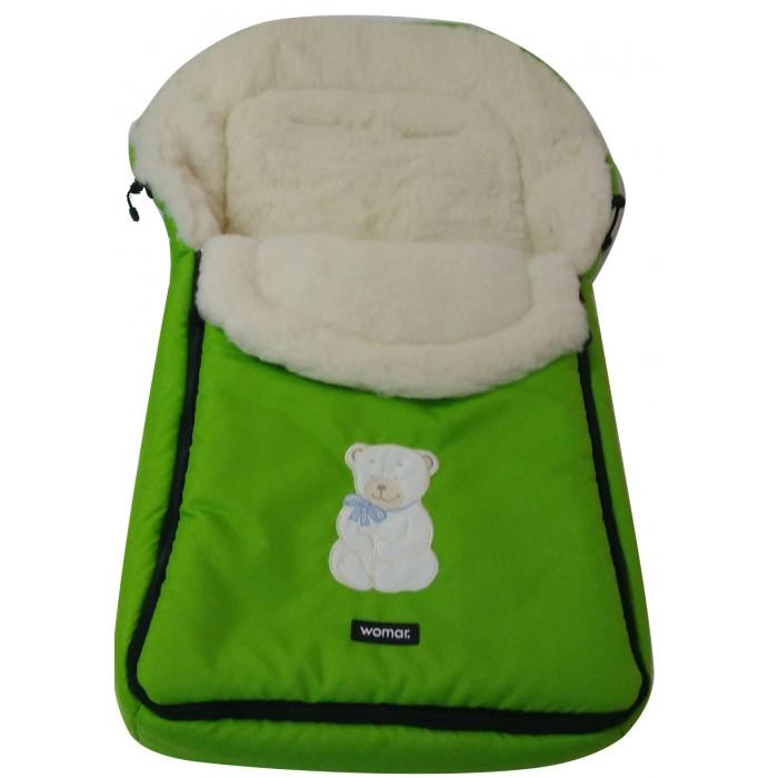 Зимний конверт Womar Nort PoleNort PoleКонверт спальный Womar Nort Pole защитит вашего малыша от холода во время прогулок. Благодаря овечьей шерсти в более прохладные дни предупреждает от потери тепла и впитывания влажности извне.   В более теплые дни, благодаря особенностям позволяющим сохранить естественную циркуляцию воздуха и температуру на постоянном уровне, предупреждает перегревание организма ребенка.   Овечья шерсть использованная в наших спальных мешках - экологически чистый продукт, 100% натуральный, соответствующий всевозможным стандартам качества. Ее особенности гарантируют ребенку здоровый и спокойный сон. Спальные мешки для коляски подходят к большинству доступных колясок на рынке.   Имеют практичный замок, позволяющий легко и быстро уложить ребенка внутри. Верхнюю часть спального мешка можно отстегнуть и применить другое покрытие.  Состав:  верх: 100% полиэстер, наполнитель: 100: полиэстер,  подкладка: трикотажный мех с ворсом 100% шерсть  Размеры: 95 х 50 см  Внимание! Оттенок конверта и рисунок могут отличаться от представленного на фото!<br>