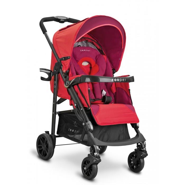 Прогулочная коляска Zooper Z9 RichZ9 RichПрогулочная коляска Zooper Z9 Rich. Уникальная серия колясок изготовлена из высококачественных текстильных материалов, в неповторимом и ярком дизайне и с расширенным функционалом.  Всесезонная модель коляски Z9 предназначена для детей в возрасте от 6 мес до 3х лет.  Прогулочная часть: Широкое посадочное место Регулируемая спинка сидения 4 положения Регулируемая подножка 3 положения Глубоки капюшон Встроенная москитная сетка (в заднюю часть капюшона) Пятиточечные ремни безопасности Съемный поручень Подлокотники Накидка на ноги Матрасик Мягкие плечевые накладки Подушка Вес: 8.7 кг Длина спального места: 80 - 81 см Ширина сидения: 36 см.  Шасси: Одинарные поворотные колеса Единый тормоз Амортизаторы на все колеса Большая грузовая корзина Комфортный доступ в корзину Телескопическое сложение Цельная ручка Ручка для переноса Подстаканник Столешница.<br>