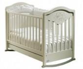 Детская кроватка Baby Italia Gioco Lux качалка cо стразами