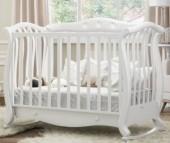 Детская кроватка Baby Italia Andrea VIP Pelle качалка