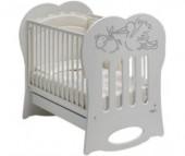 Детская кроватка Baby Italia Crystal качалка