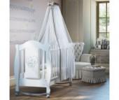 Детская кроватка Baby Italia Incanto с эко-кожей