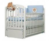 Детская кроватка Baby Italia Leo продольный маятник