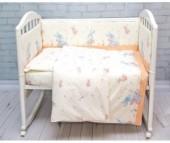 Бампер для кроватки Baby Nice (ОТК) Элит Зайка
