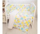 Комплект в кроватку Baby Nice (ОТК) Споки ноки Совы (6 предметов)