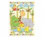 Одеяло Baby Nice (ОТК) байковое У озера 85х115 см