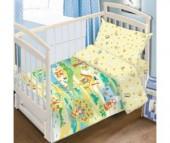 Постельное белье Baby Nice (ОТК) Гуси-Лебеди (3 предмета)