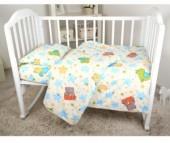 Постельное белье Baby Nice (ОТК) Звездопад (3 предмета)