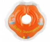 Круг для купания Baby Swimmer погремушка 0-24 мес.